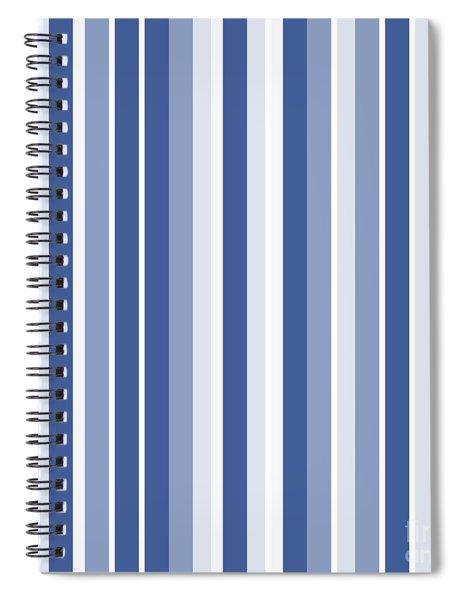 Vertical Lines Background - Dde605 Spiral Notebook