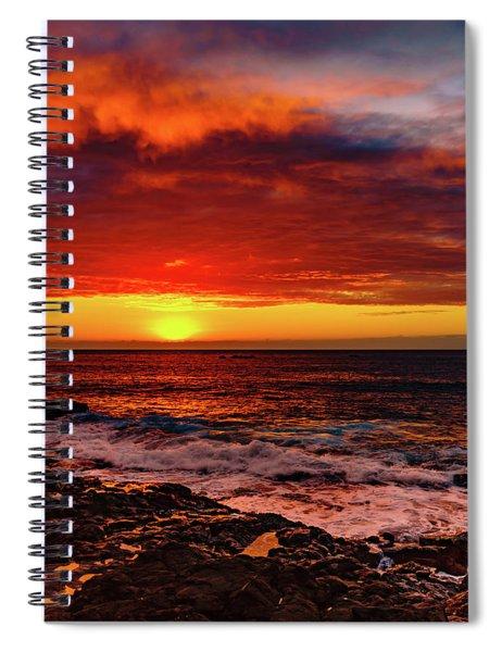 Vertical Warmth Spiral Notebook