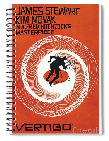 Vertigo 1958 Spiral Notebook
