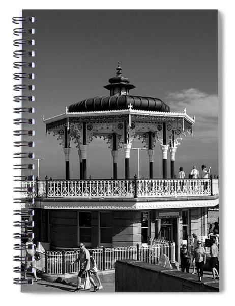 Victorian Bandstand At Brighton Beach Spiral Notebook