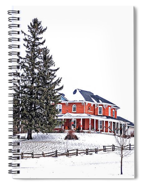 Victorian Farmhouse 2 Spiral Notebook