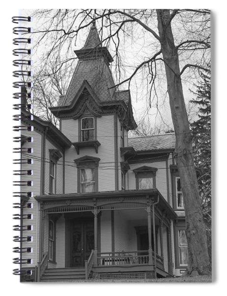 Victorian Mansion - Waterloo Village Spiral Notebook