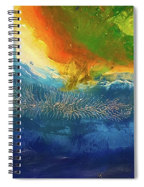 View From Space Spiral Notebook