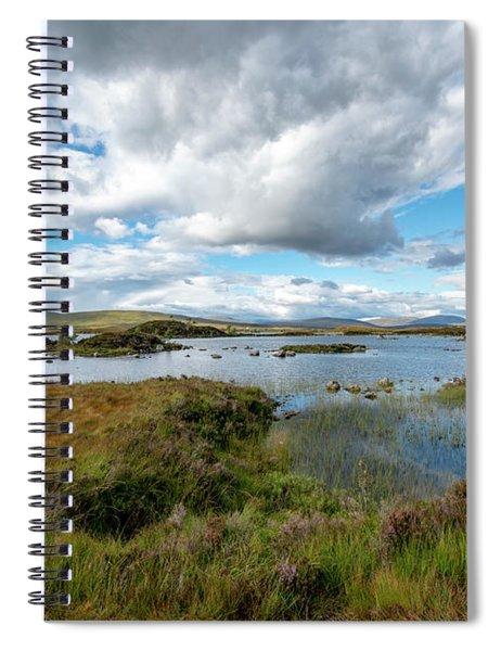 View In Glencoe, Scotland Spiral Notebook
