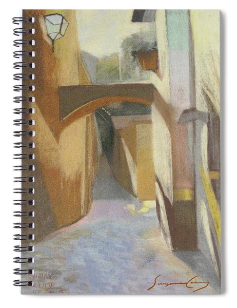 View Of Italian Arch Spiral Notebook