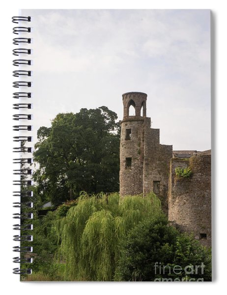 View Of The Blarney Tower Spiral Notebook