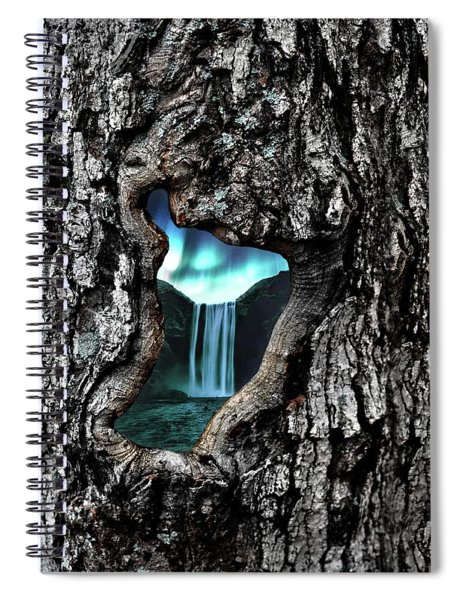 View To Another World  Spiral Notebook