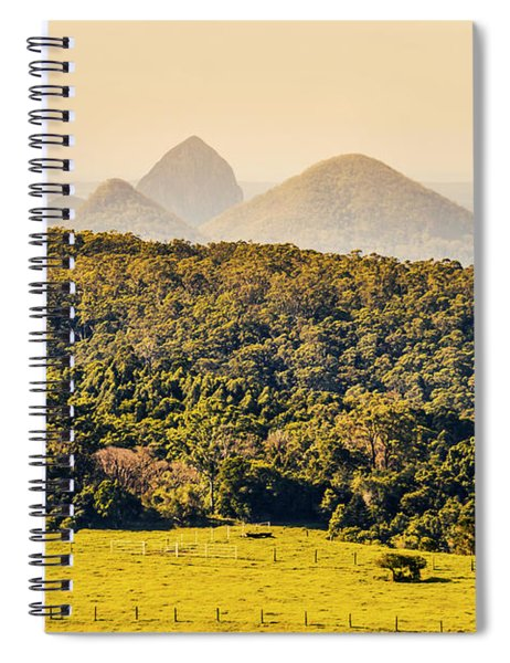 View To The Sunshine Coast Spiral Notebook
