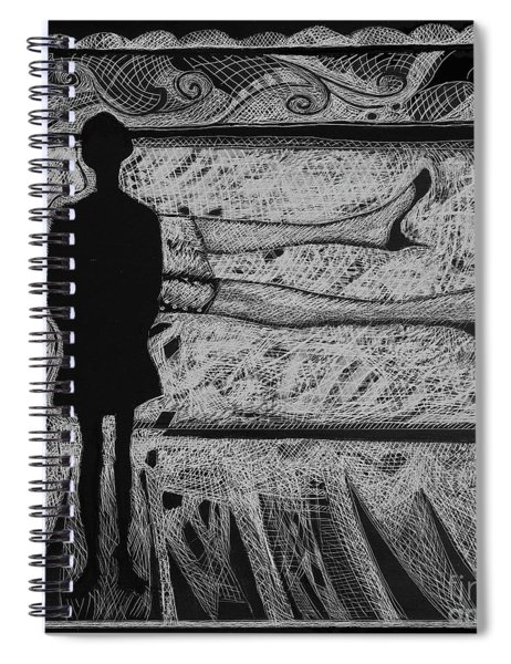 Viewing Supine Woman. Spiral Notebook