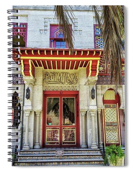 Villa Zorayda Spiral Notebook