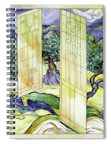 Vincent Meets Frank Spiral Notebook