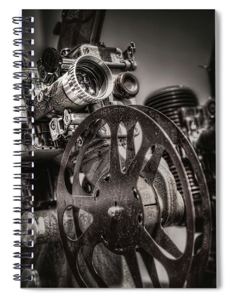 Vintage 16mm Spiral Notebook