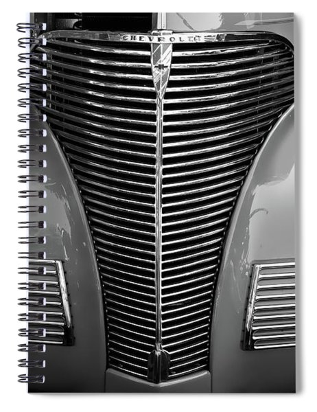Vintage Chevy Coupe Spiral Notebook