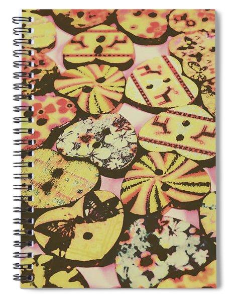 Vintage Dressmaking Designs Spiral Notebook