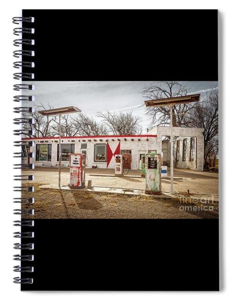 Vintage Midway Station  Spiral Notebook