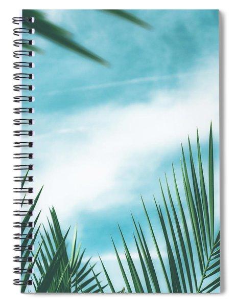 Vintage Palms II Spiral Notebook
