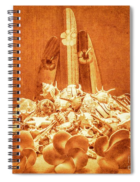 Vintage Summer Still Spiral Notebook