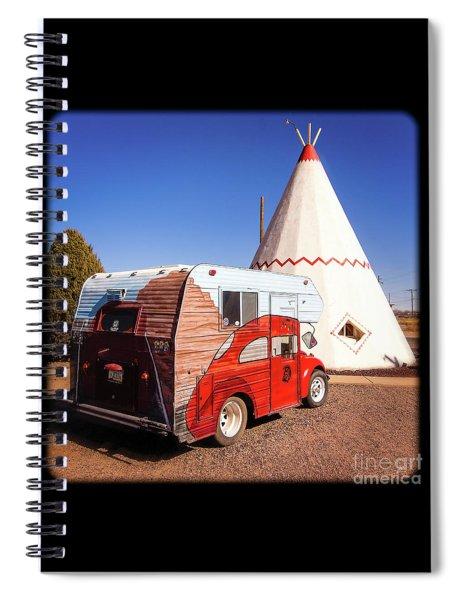 Vintage Volkswagon Beatle Camper  Spiral Notebook