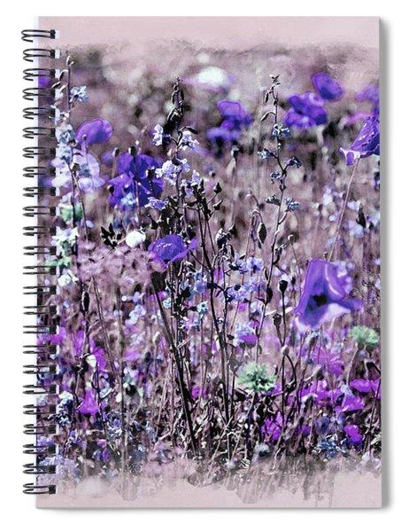 Violet Mood Spiral Notebook