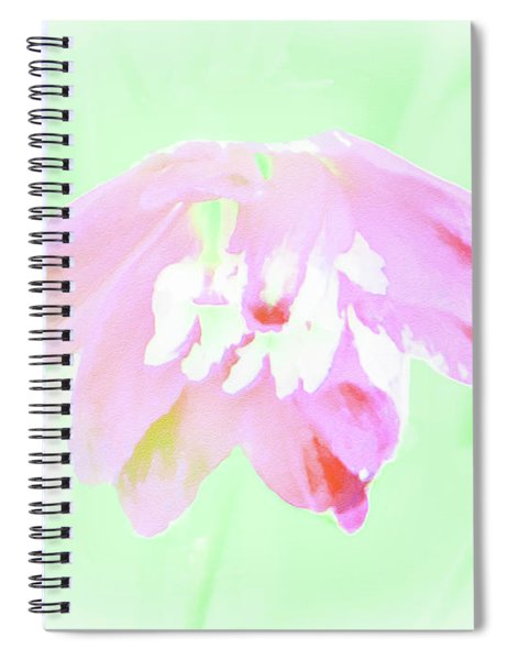 Violet Red Islamic Flora Spiral Notebook