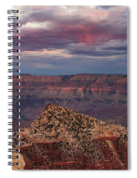 Virga Spiral Notebook by Rick Furmanek