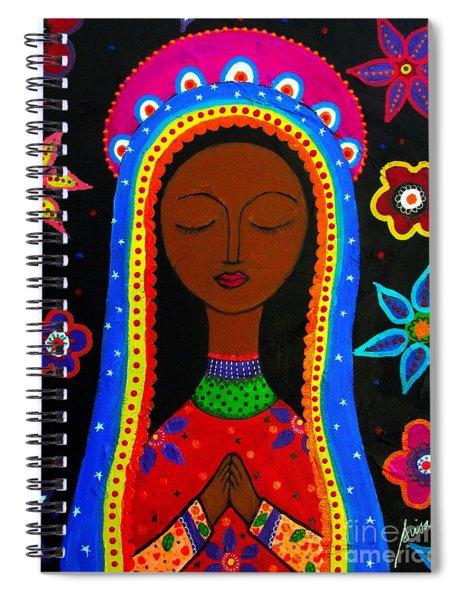 Virgen Guadalupe Spiral Notebook