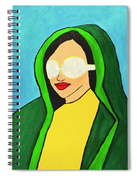 Virgin America Spiral Notebook