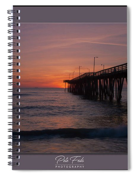 Virginia Beach Sunrise Spiral Notebook