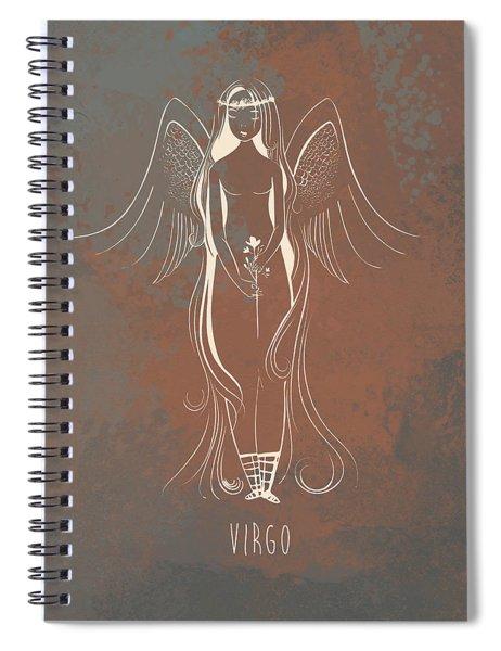 Virgo Spiral Notebook