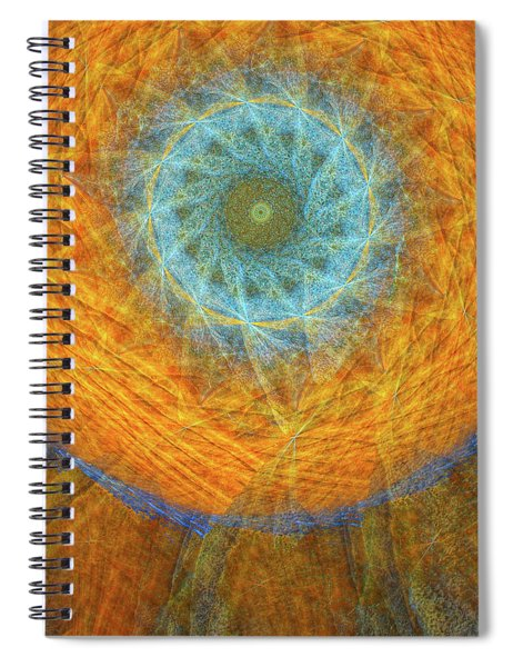 Visionary Spiral Notebook by Skip Hunt