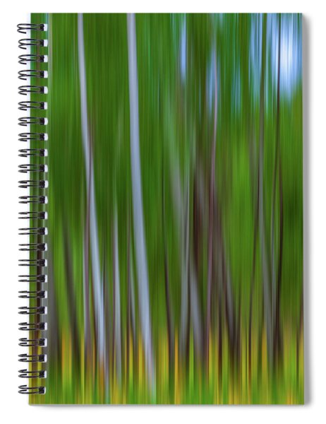 Visions Of Summer Spiral Notebook