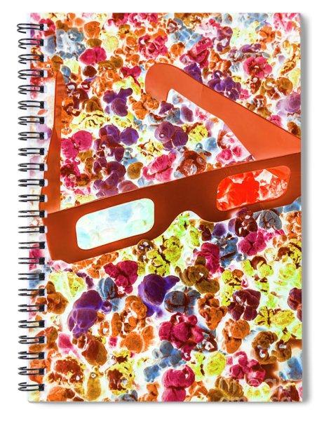 Visual Pop Art Spiral Notebook