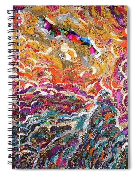 Ohun Olurun Voice Of God  Spiral Notebook
