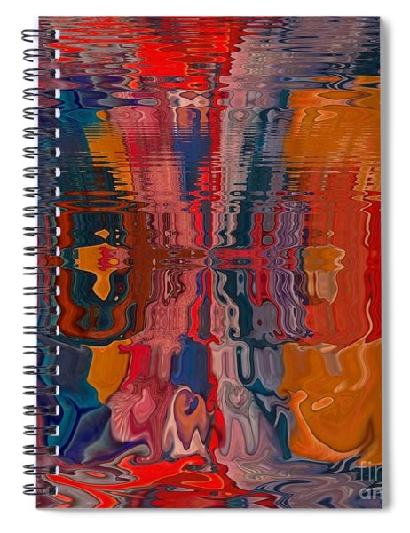Spiral Notebook featuring the digital art Von Freestyle by A zakaria Mami