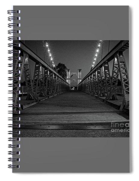 Waco Suspension Bridge  Spiral Notebook