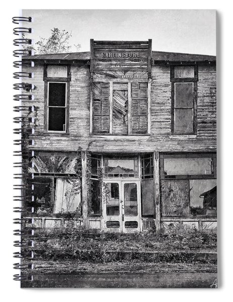 Spiral Notebook featuring the photograph Waiting For Care by Andrea Platt