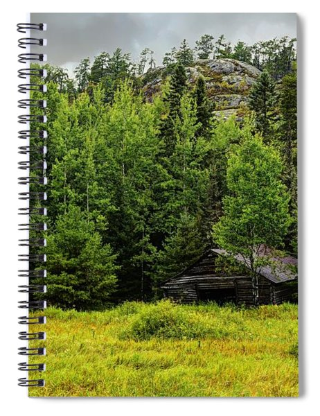 Waiting For The Fall Spiral Notebook