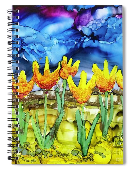 Waiting For The Rain Spiral Notebook