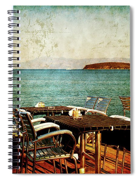 Waiting For The Right People Spiral Notebook