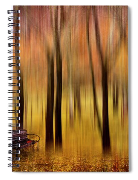 Waiting For You In My Dreams Spiral Notebook