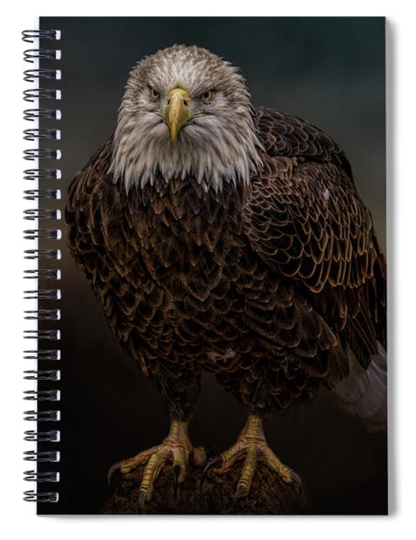 Waiting On The Storm Spiral Notebook