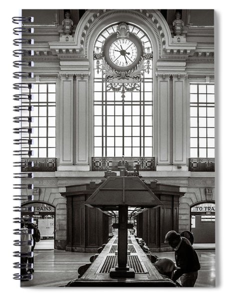 Waiting Room Spiral Notebook