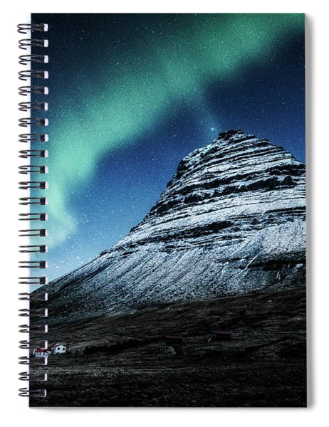 Wake Up The Sky Spiral Notebook