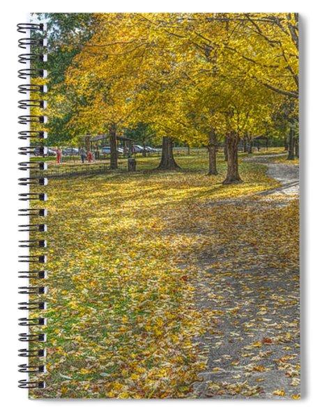 Walk In The Park @ Sharon Woods Spiral Notebook