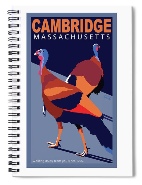 Walking Away From You-cambridge Spiral Notebook