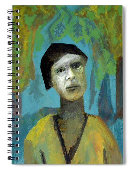 Walking In A Forest Spiral Notebook