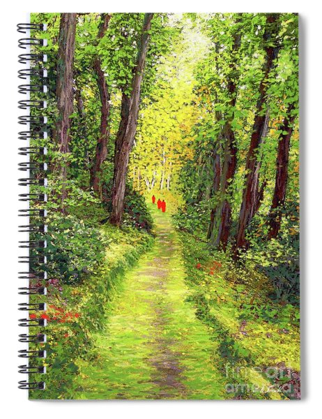 Walking Meditation Spiral Notebook