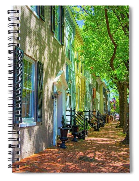 Walking On Duke Street Spiral Notebook