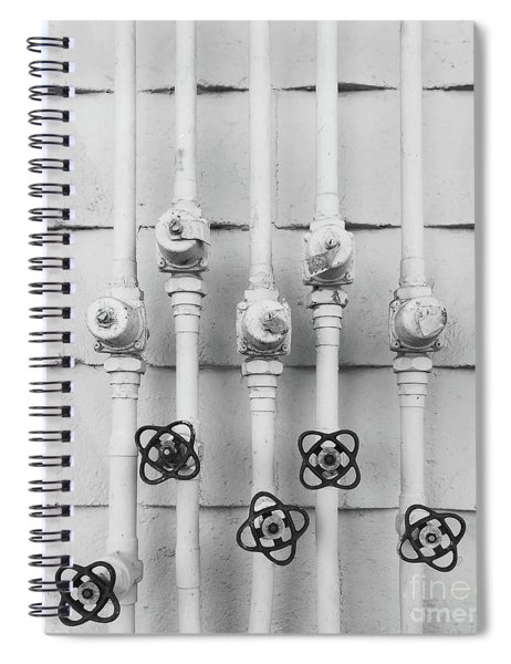 Wall And Its Plants Spiral Notebook