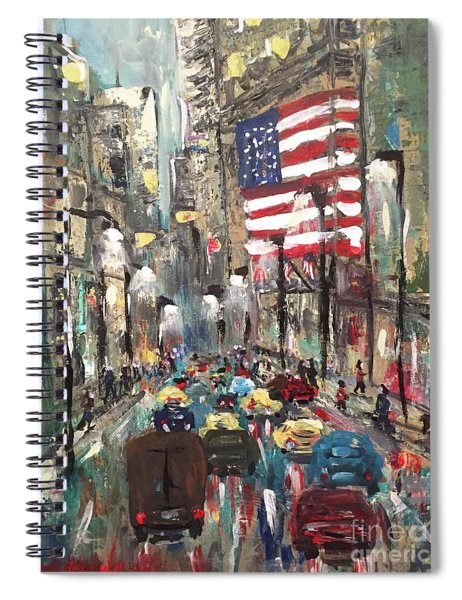 wall street NY Spiral Notebook
